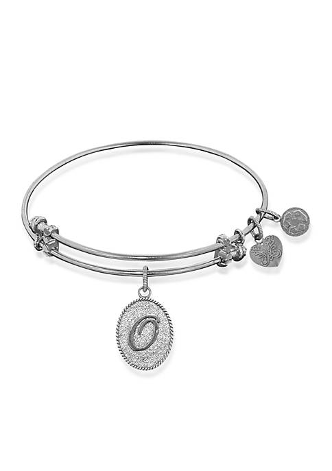 Angelica O Initial Expandable Bangle