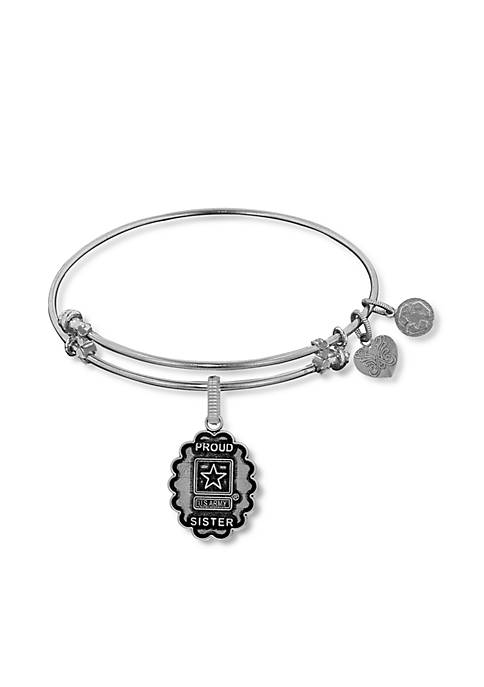 Angelica Army Proud Sister Expandable Bangle