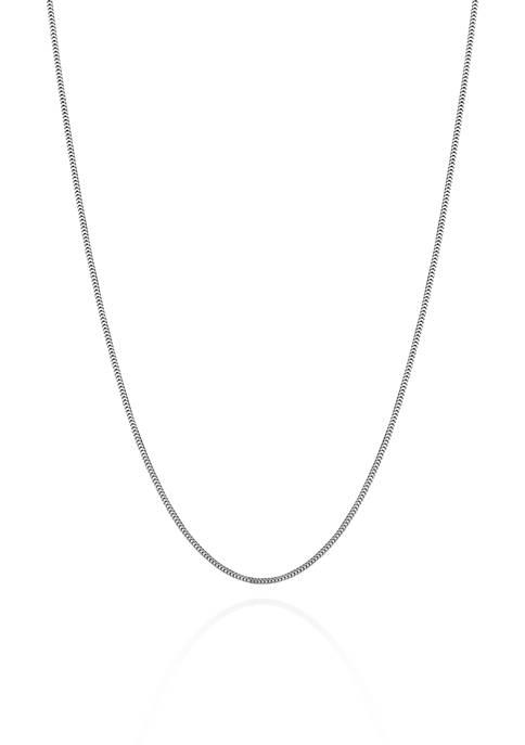 Belk & Co. 14k White Gold Milano Chain