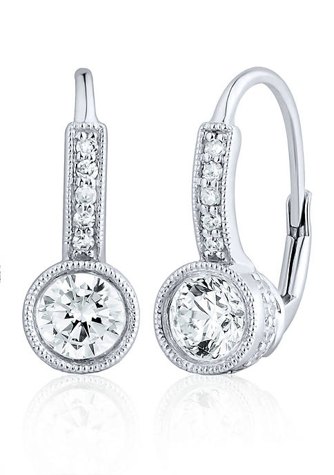 Belk & Co. Diamond Earrings in 14K White