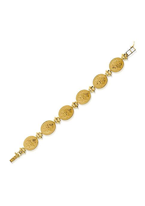 Belk & Co. 14k Yellow Gold Etruscan Bracelet
