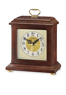 Wooden Carriage Desk Clock