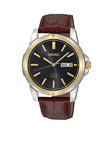 Mens 100M Two Tone Watch