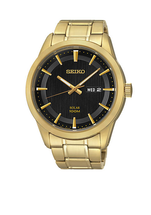 Seiko Mens Sport Solar Dress Watch