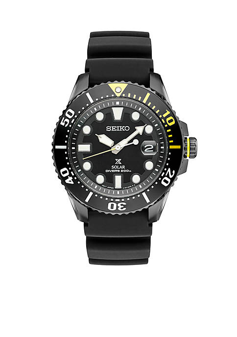 Seiko Mens Prospex Solar Dive Watch