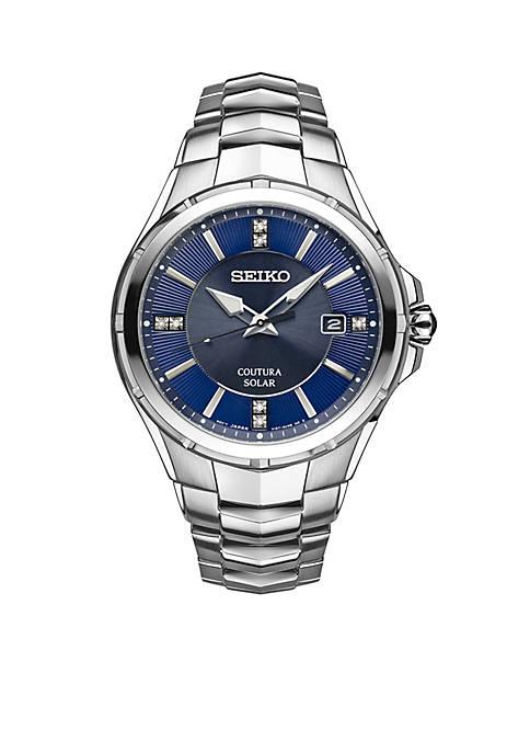 Seiko Mens Courtura Diamond Accents Watch