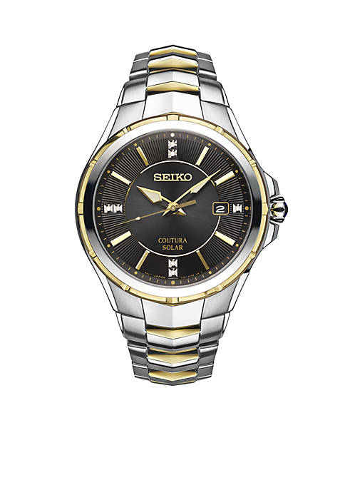 Seiko Mens Courtura Diamond Accents Watch