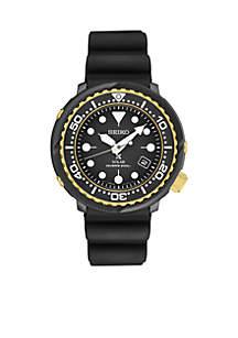 Seiko Men's Two Tone Prospex Solar Diver Watch