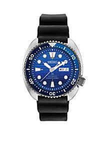 Men's Automatic Prospex Special Edition Diver Black Silicone Strap Watch