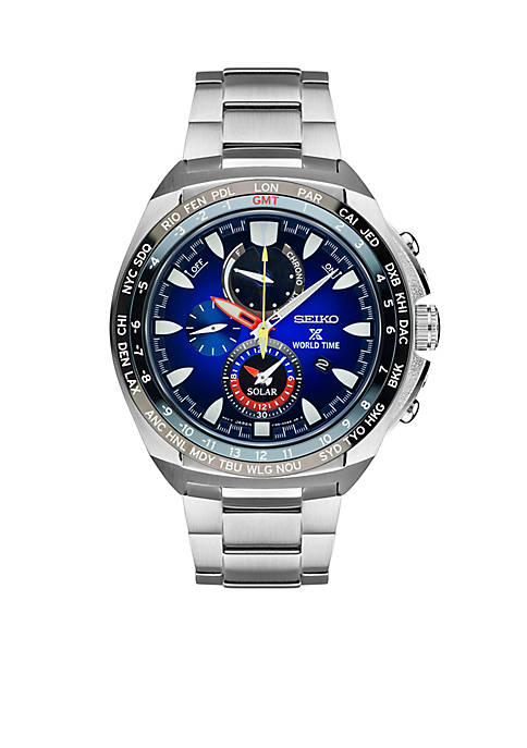 Seiko Mens Prospex Special Edition World Time Chronograph