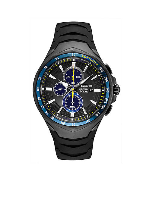 Seiko Mens Stainless Steel Coutura Jimmie Johnson Special