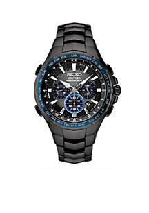 Men's Stainless Steel Coutura Radio Sync Solar Chronograph Bracelet Watch