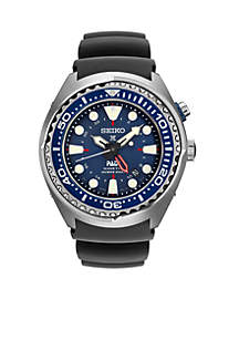 Men's Prospex Kenetic GMT Diver Blue Silicone Watch