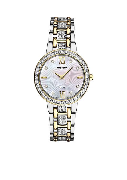 Seiko Womens Solar Bracelet Watch