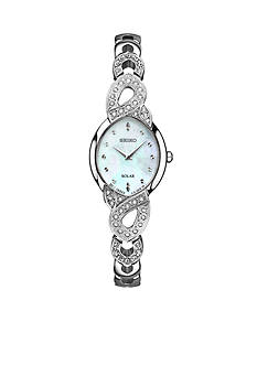 Seiko Ladies' Crystal Box Set with Pendant and Swarovski® Crystal Accents