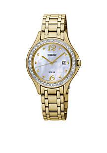 Women's Solar Gold Watch