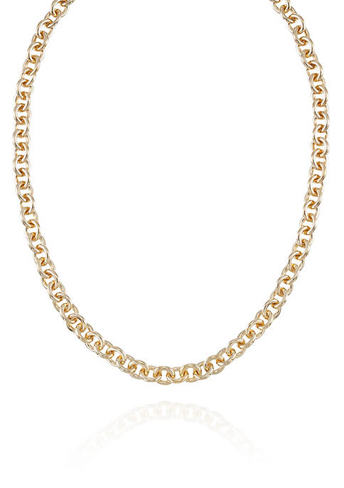 14k Yellow Gold Chain Necklace