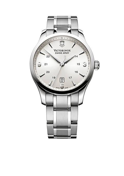 Victorinox Swiss Army, Inc Alliance Silver-Tone Dial Bracelet