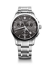 Men's Alliance Stainless Steel Chronograph Watch