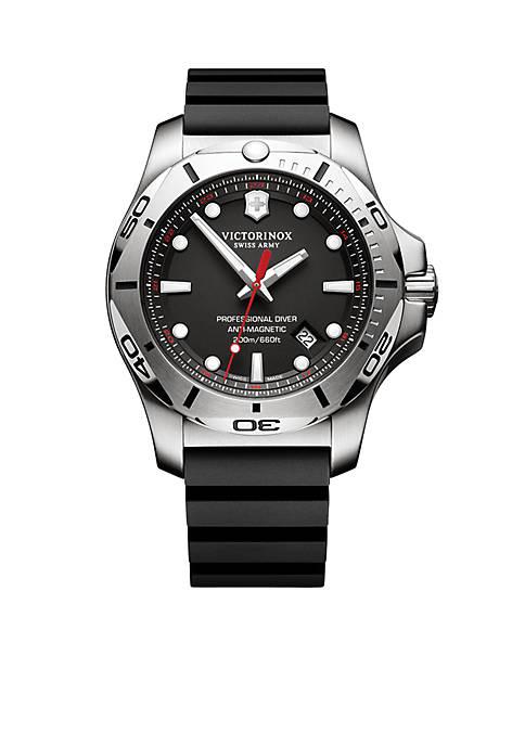Mens I.N.O.X. Professional Diver Black Dial Watch