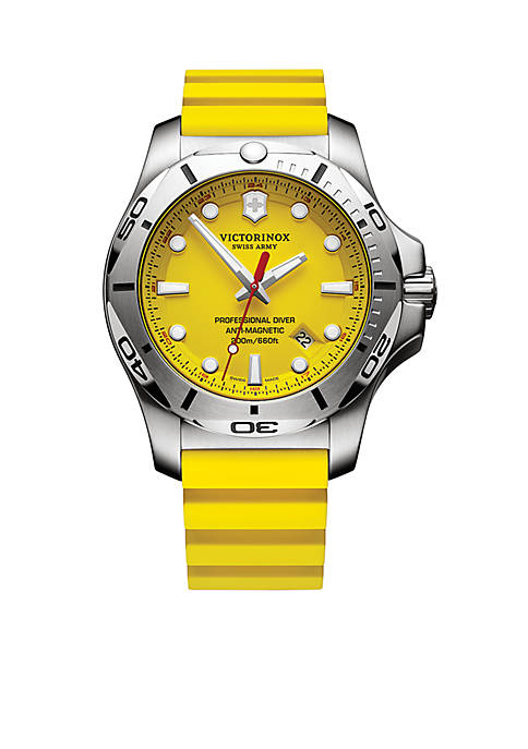 Victorinox Swiss Army, Inc I.N.O.X. Yellow Professional Diver
