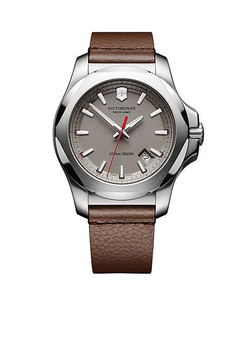 Mens I.N.O.X. Grey Dial Watch