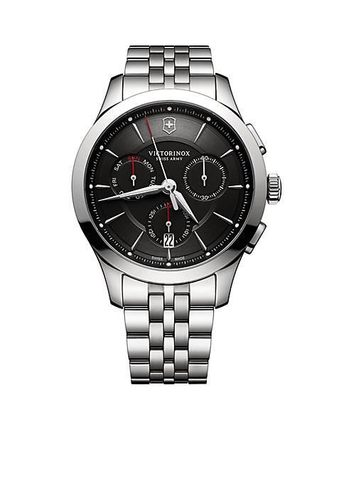 Mens Alliance Chronograph Black Dial Watch