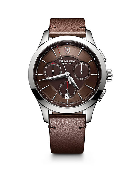 Victorinox Swiss Army, Inc Alliance Chronograph Brown Dial