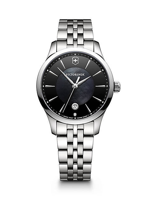 Womens Stainless Steel Alliance Bracelet Watch