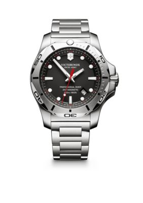 Victorinox Swiss Army  Inc  I.N.O.X. Professional Diver Black Dial Watch -  5400118241781