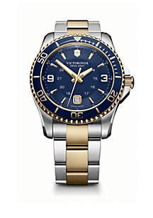 Maverick Men's Two-Tone Stainless Steel Maverick Bracelet Watch