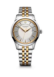 Alliance Two-Tone Stainless Steel Bracelet Watch