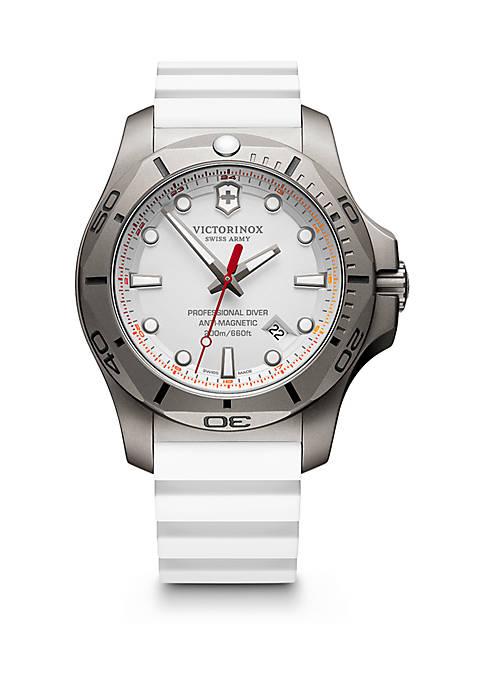 Mens I.N.O.X. Professional Diver Titanium Strap Watch