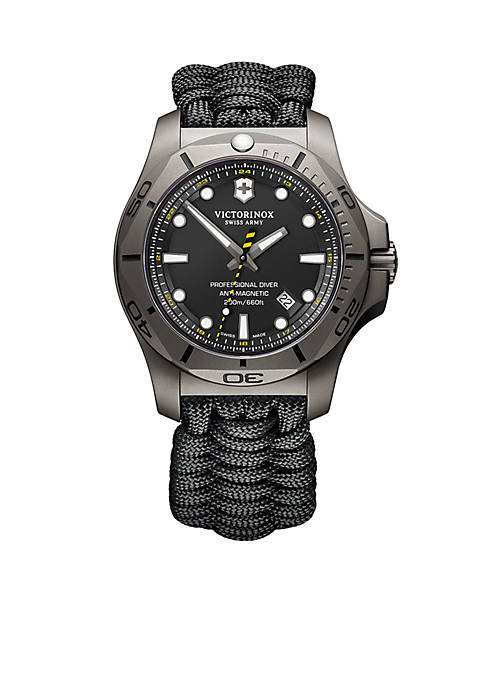Swiss Army Mens I.N.O.X. Professional Diver Paracord Strap
