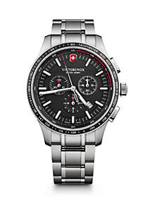 Victorinox Swiss Army, Inc Alliance Sport Chronograph Watch with Stainless Steel Bracelet