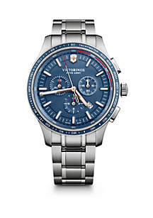 Alliance Sport Chronograph Watch with Stainless Steel Bracelet