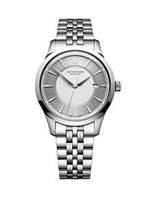 Victorinox Swiss Army, Inc Stainless Steel Alliance Bracelet Watch