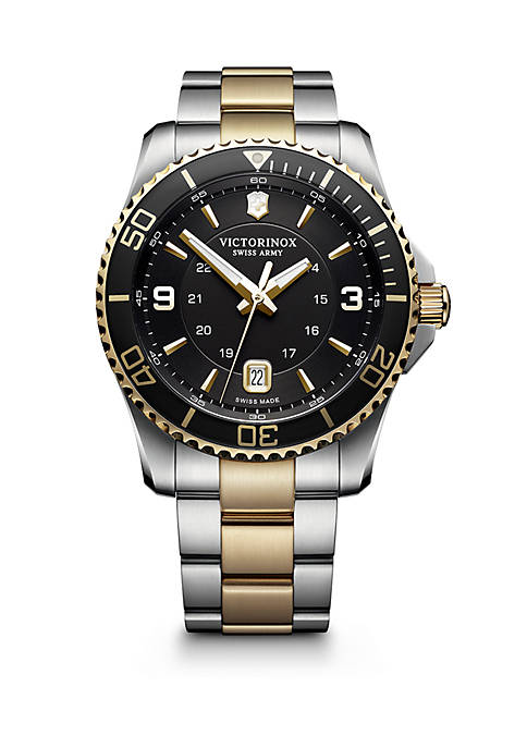 Maverick Two-Tone Stainless Steel Watch