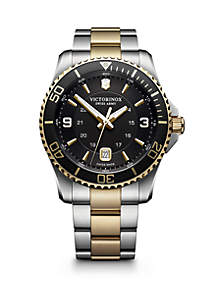 Victorinox Swiss Army, Inc Maverick Two-Tone Stainless Steel Watch