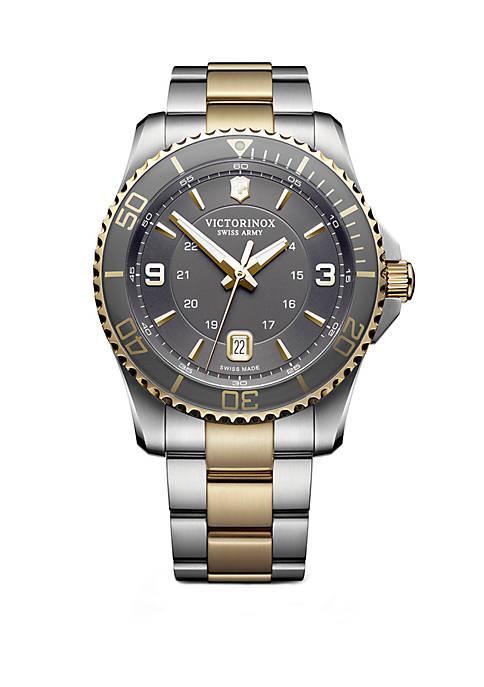 Victorinox Swiss Army, Inc 2 Tone Maverick Bracelet