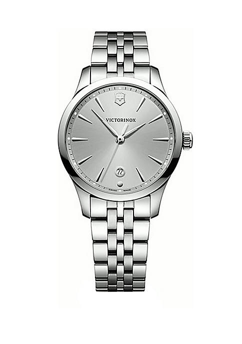 Stainless Steel Gray Dial Watch