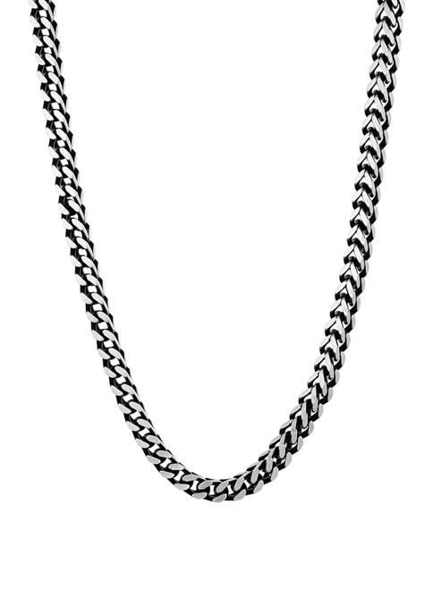 Belk & Co. Stainless Steel 5 Millimeter Foxtail
