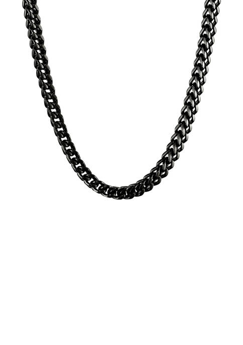 Belk & Co. Stainless 6 Millimeter Foxtail Necklace