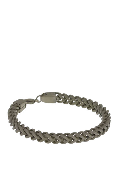 Belk & Co. Stainless Franco Chain Bracelet with