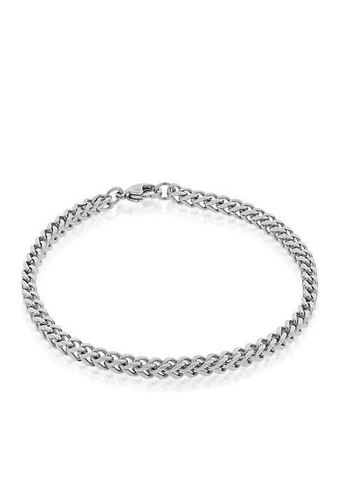 Belk & Co. Mens Stainless Steel Bracelet