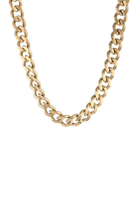 Belk & Co. Stainless Chunky Chain Necklace