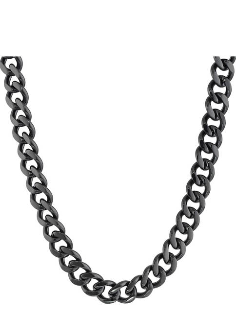Belk & Co. Stainless Steel Chunky Chain Necklace