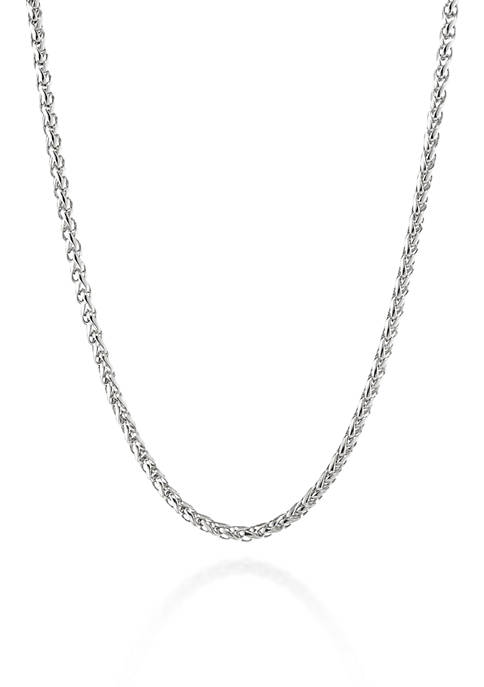 Belk & Co. Men?s Stainless Steel Chain Necklace