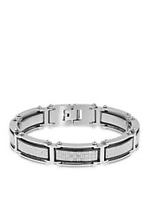 Men's Stainless Steel Cable Bracelet