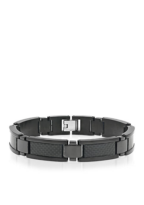 Belk & Co. Mens Stainless Steel and Carbon